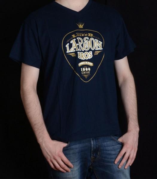 Larson-T-Shirt-ROAL-XXL-100-Rayon-Jersey-Navy-Blue