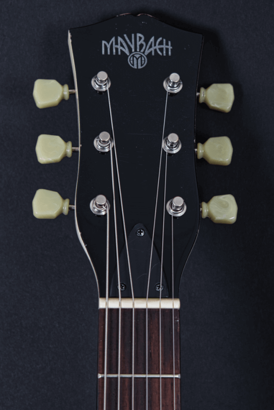 Headstock_Larson_Bros_Electric_Guitar_Maybach_Guitars_Lester
