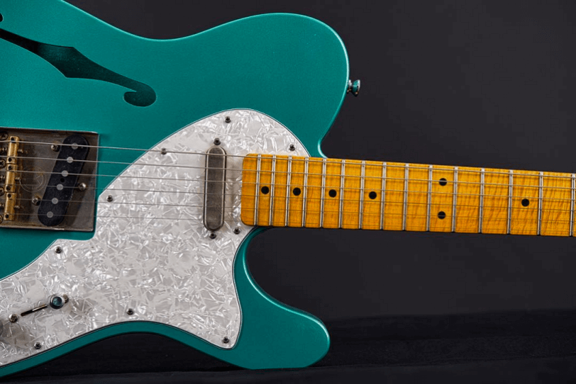 Electric_Guitar_Maybach_Guitars_Teleman_Thinline_miami_green