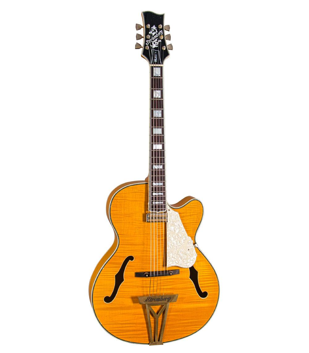Stromberg Montreux Trans Honey / Aged Gold (Spruce Top)