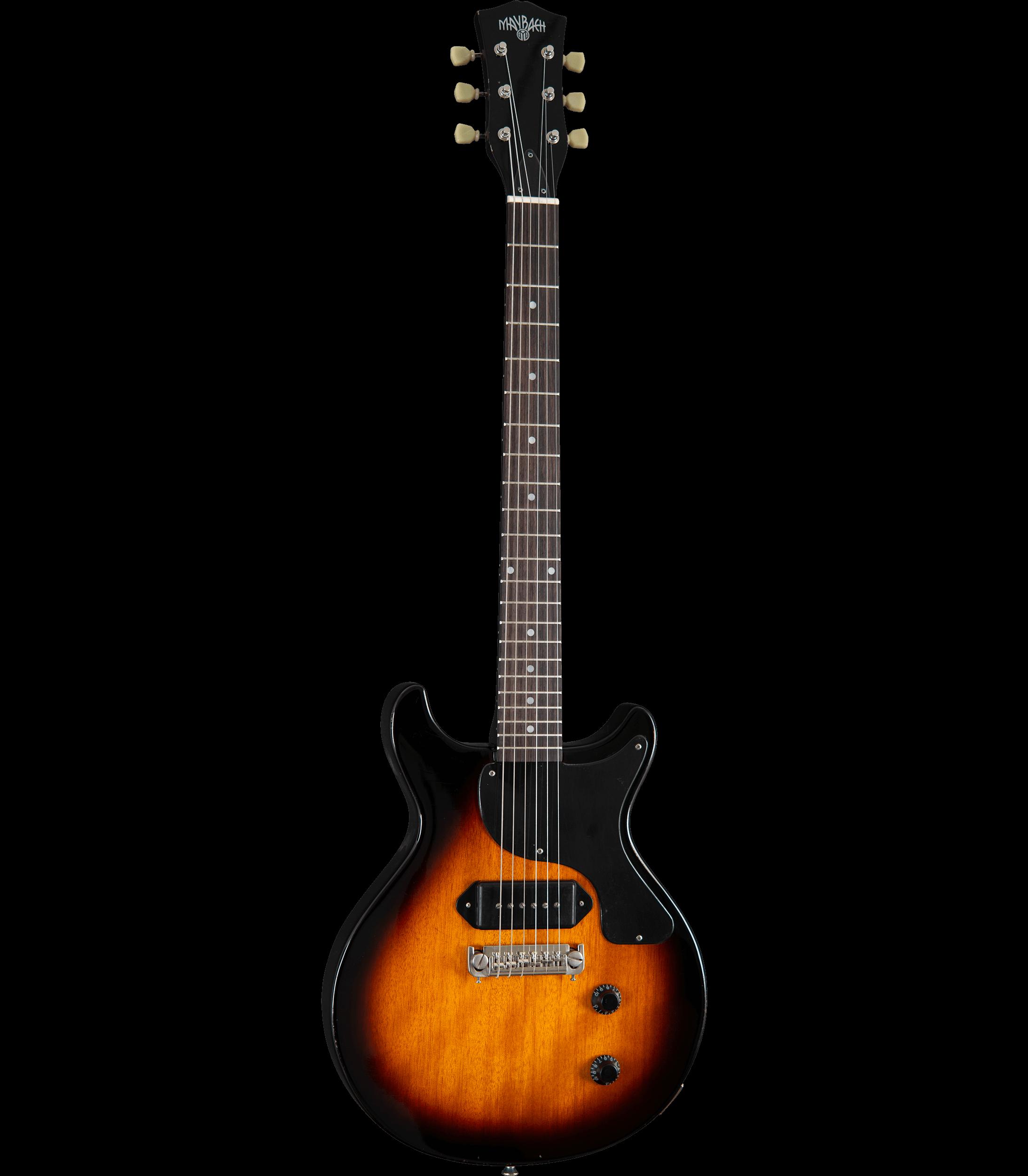 Maybach Lester Jr. Double Cut 2-Tone Sunburst