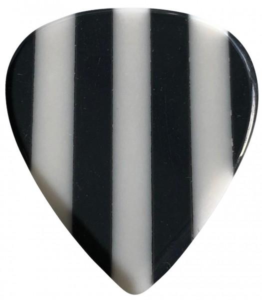 Stanford Guitar Pick Zebra Resin