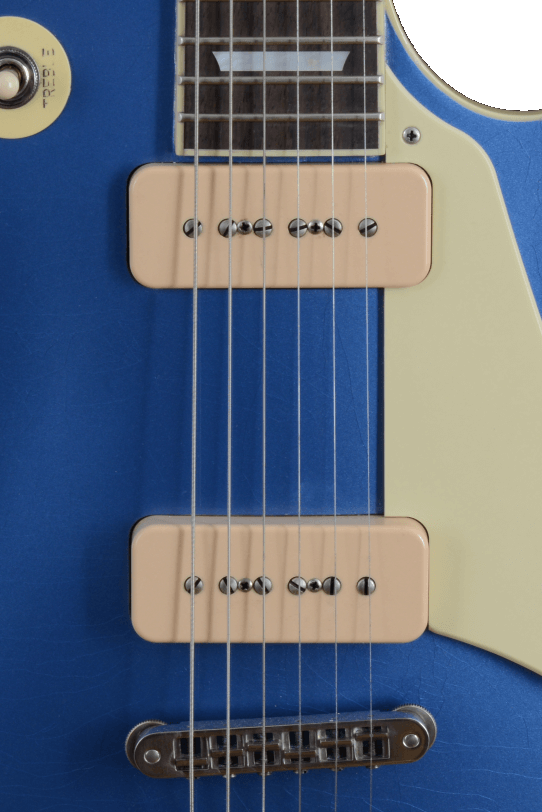 Pickups_P90_Amber_Soapbar_Electric_Guitar_Maybach_Guitars_Lester_Blue_Pelham