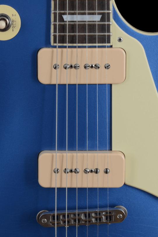 Pickups_P90_Amber_Soapbar_Electric_Guitar_Maybach_Guitars_Lester_Blue_Pelham