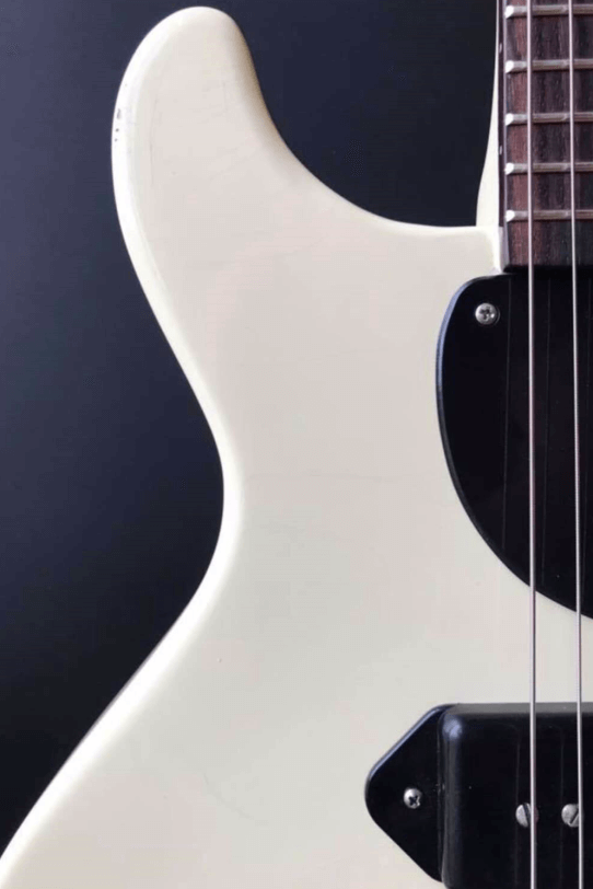 Electric_Guitar_Maybach_Guitars_Lester_JR_white_double_Cutaway