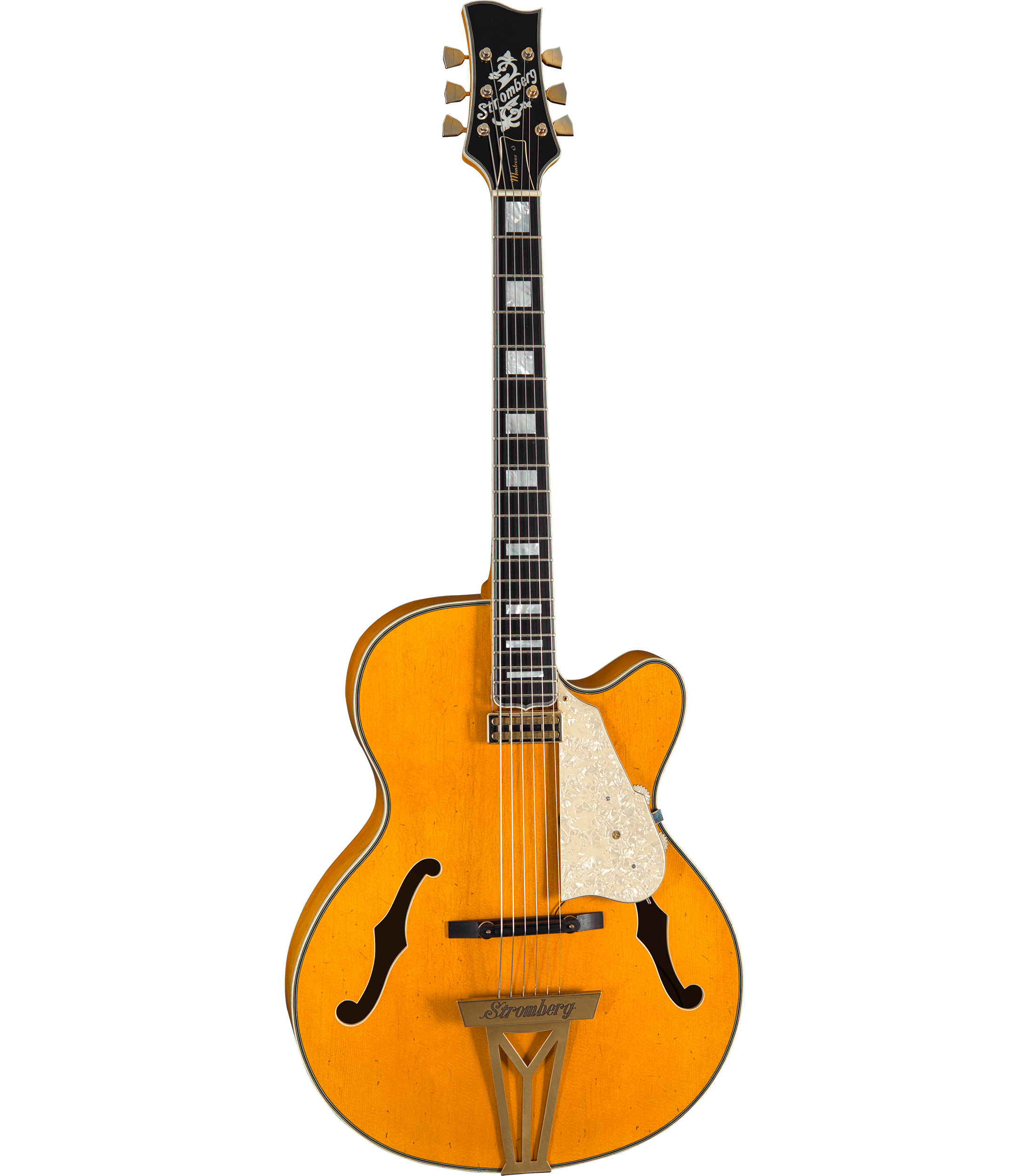 Stromberg Montreux Trans Honey / Aged Gold (Spruce Top) Hero-Shot