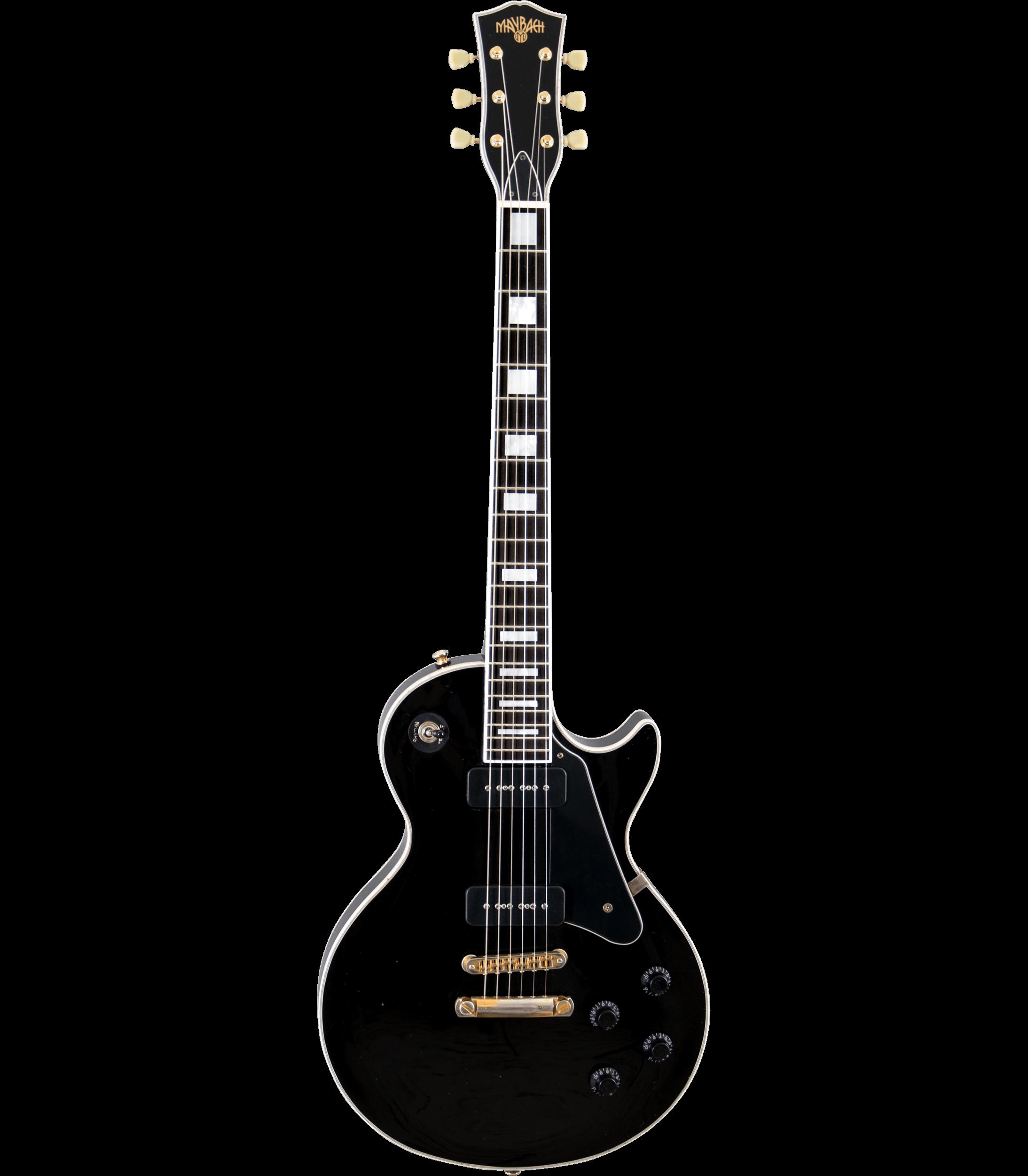 Maybach Lester Black Velvet Custom P90
