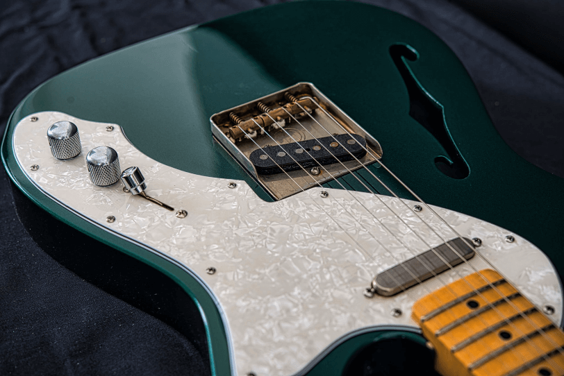 Electric_Guitar_Maybach_Guitars_Teleman_Thinline_teal_green