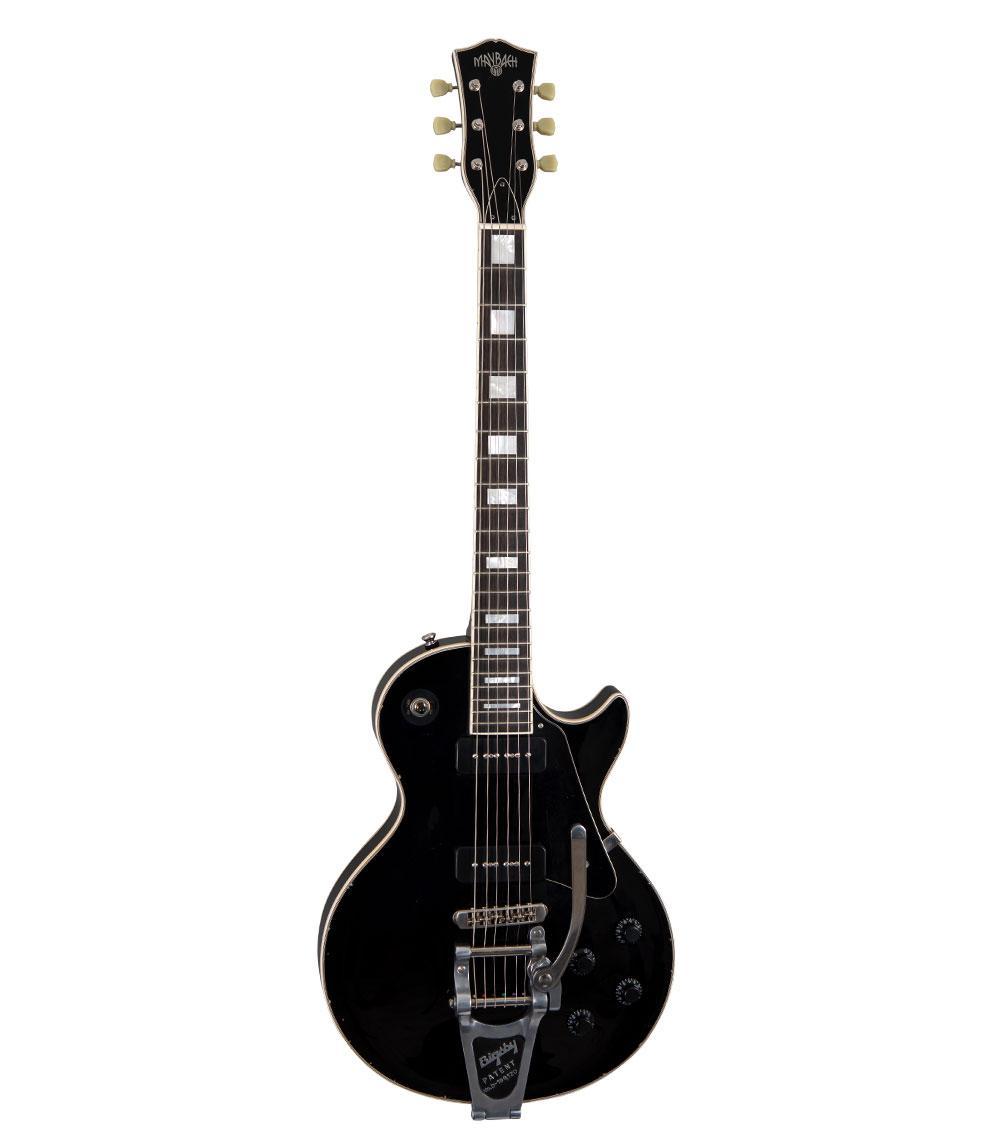 Maybach Lester Black Velvet Custom P90 Bigsby B7