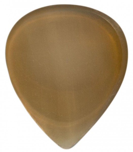 Stanford-Guitar-Pick-Classic-Clear-Horn-Vorderseite