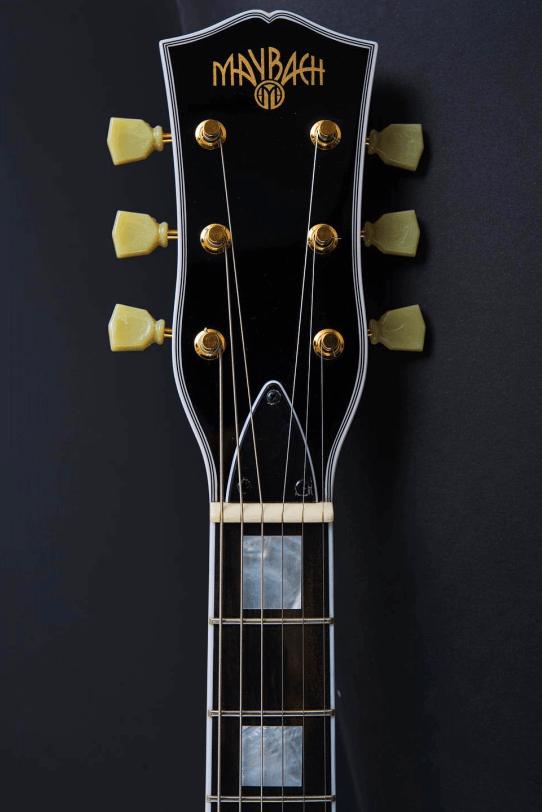 Headstock_Larson_Bros_Electric_Guitar_Maybach_Guitars_Lester_Custom_Black_Velvet_up