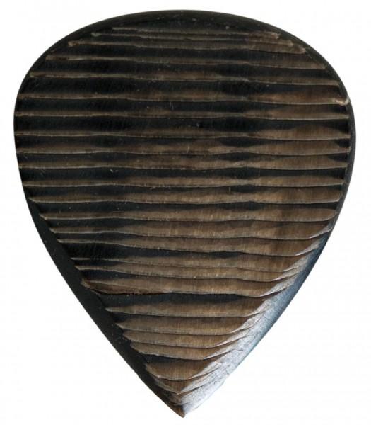 Stanford-Guitar-Pick-Tigertone-Dark-Horn-Vorderseite