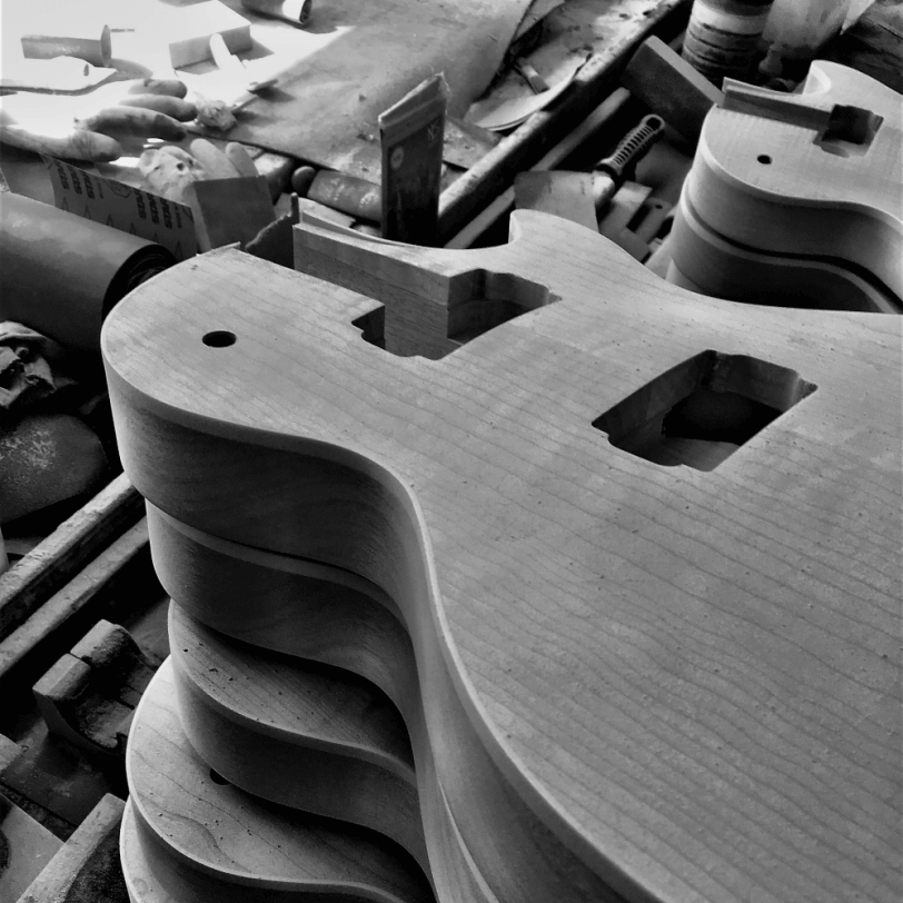 Electric_Guitar_Maybach_Guitars_Lester_Body_production