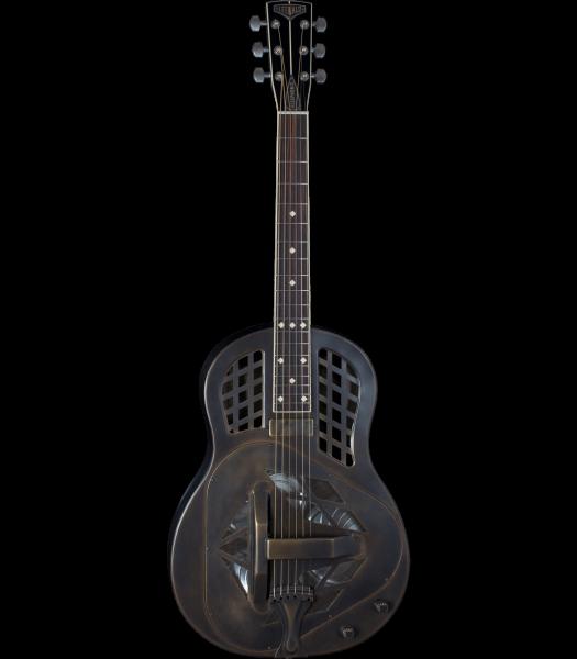 Leewald Metal Body Tricone Style 1 Vintage Duotone