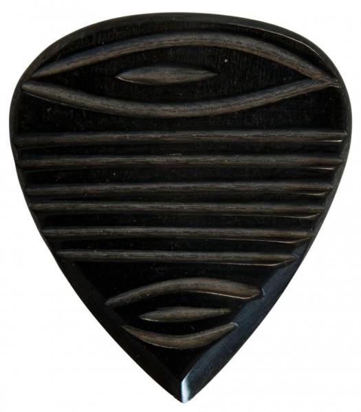 Stanford-Guitar-Pick-Templedoor-Dark-Horn-Vorderseite